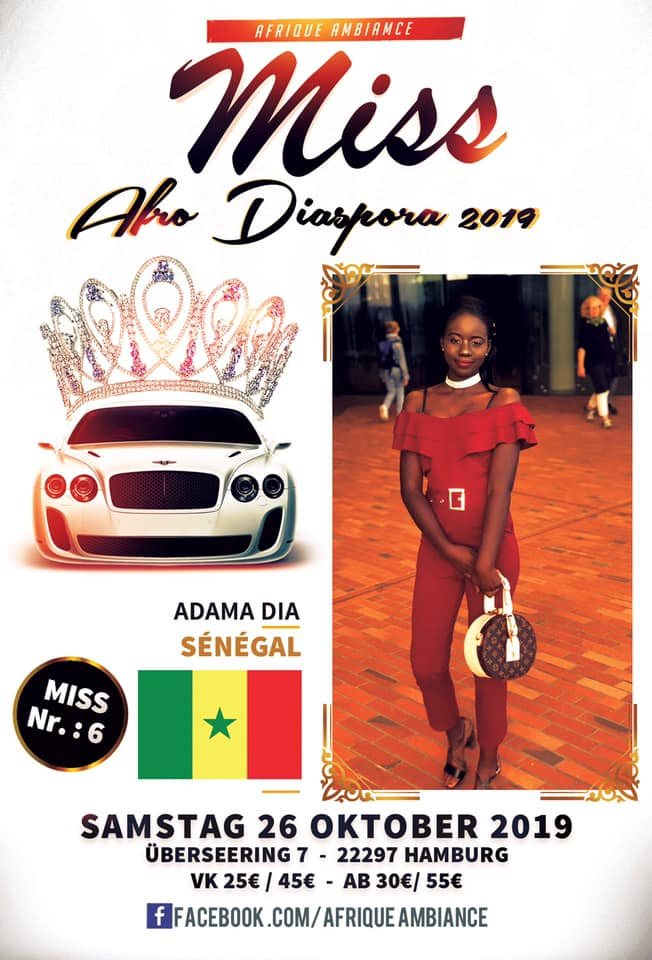 miss senegal